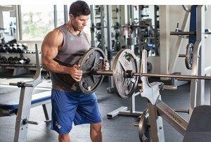 riscaldamento bodybuilding
